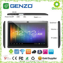 7 inch dual Core Tablet PC Chinese OEM Android tablet Q88 prices bulk buy in China best buy prices