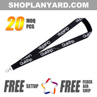 Bulk cheap custom nylon keychain holder lanyard