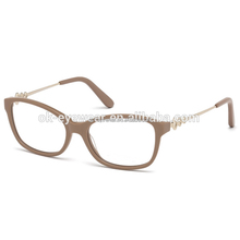 Womens bling eyeglasses frames with diamond crystals
