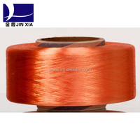 100% polyester POY dope dyed virgin filament yarn
