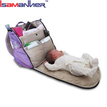 High quality functional baby stroller bag stylish designer nappy changing bags