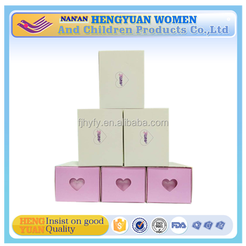 Partent herbal sanitary napkin 100% pure cotton sanitary pad top high quality napkin sanitary