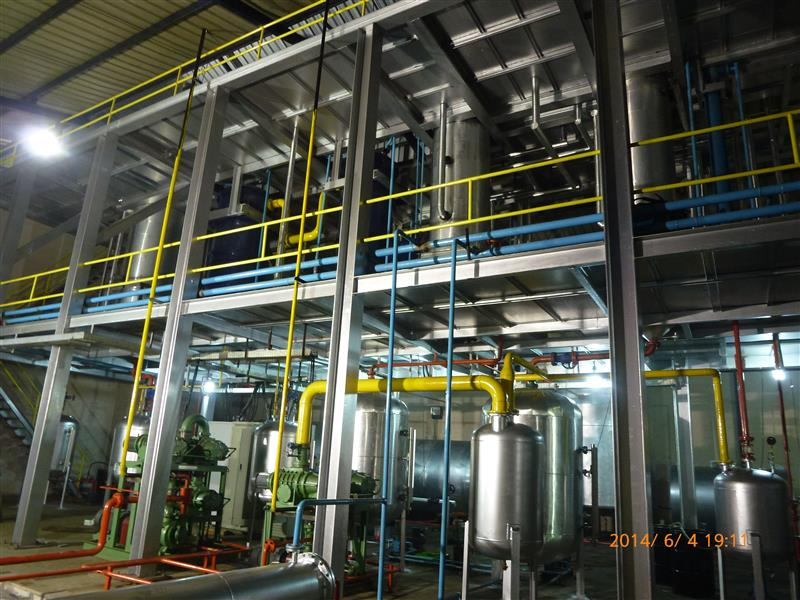 Molecular distillation waste lube oil recycling Recycling plant