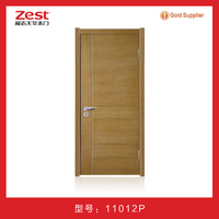 oak wood mdf door/ modern design interior door/ hotel and office door