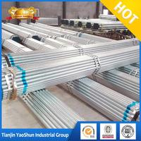 Galvanized pipe tube price list