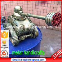 Hot Iron Art Crafts Military Armored