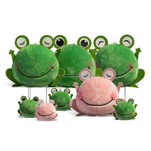 Cutsom cheap cute plush doctor green frog toy fashion soft stuffed plush frog