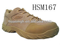 low cut comfort design tan color special force marching mission military running shoes