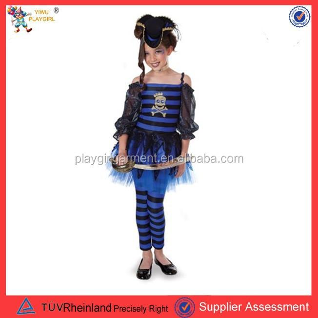 Одежда пирата для девочек