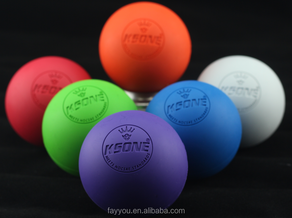 NOCSAE & SEI Lacrosse ball Rubber ball Lacrosse massage ball