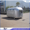JX-BT400A big silver high class motorcycle travel trailer