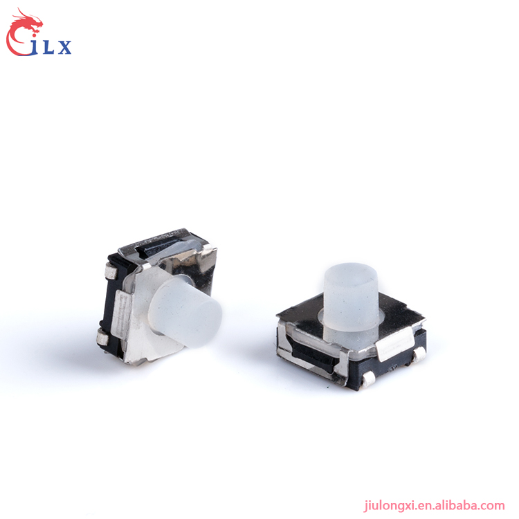 High quality white rubber knob pack feet tactile switch