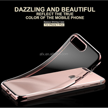 BASEUS Brand Shining Series Glitzy Clear TPU Anti-Scratch Back Case For iPhone 7 / 7 Plus, 5 Luxury color for choose