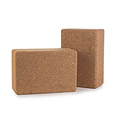 Body Exercise High Quality Nutural Cork Yoga Blocks
