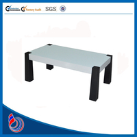 2015 Simple and luxury bent glass coffee table CT031