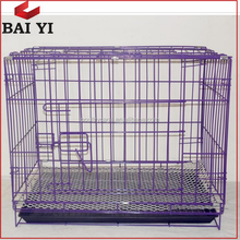 Wholesale Welded Wire Mesh Large Purple Dog Crate