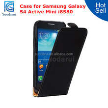 Factory Price For Samsung Galaxy S4 Active Mini i8580 Leather Flip Cover Case