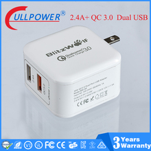 US plug 18 W Qualcomm Quick charger 3.0