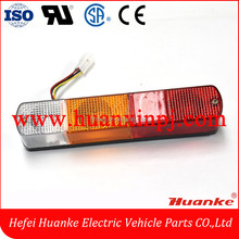 Hot selling TCM Forklift rear led tail light three color 12V