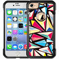 custom mobile print case for iphone 5 6 7 plus, TPU + PC 2 in 1 Case for iPhone