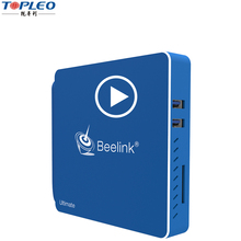 High quality digital tv converter box 3 USB 3.0 intel atom N3450 mini pc intel atom mini pc