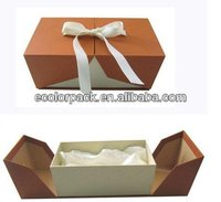 nice foldable yellow cardboard box for gift fancy strong paper box for gifts