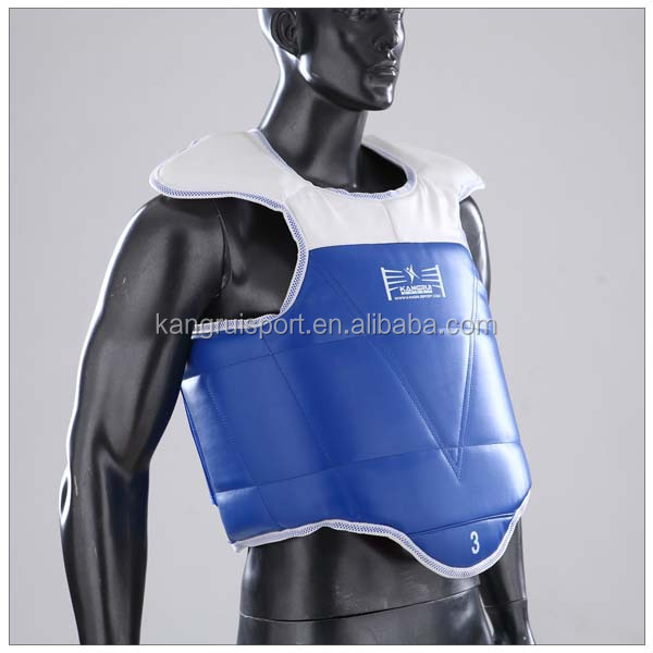 High Quality double side taekwondo chest protection