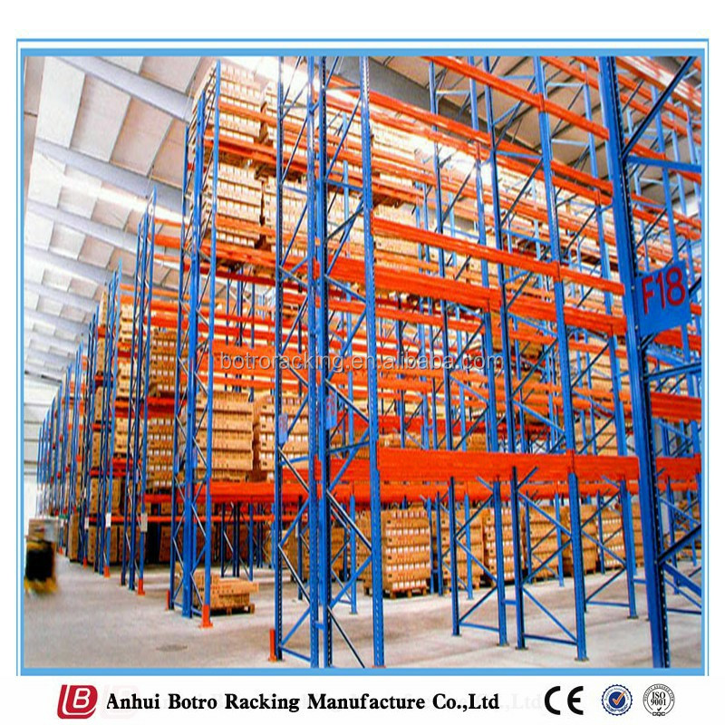 Good quality guaranteed China interior used logistic equipment pallet rack shelving