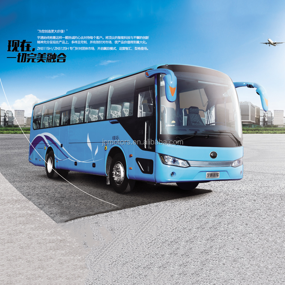 11 Meter Hot Selling Yutong Passenger Coach bus ZK6116D with Free Parts for Sale