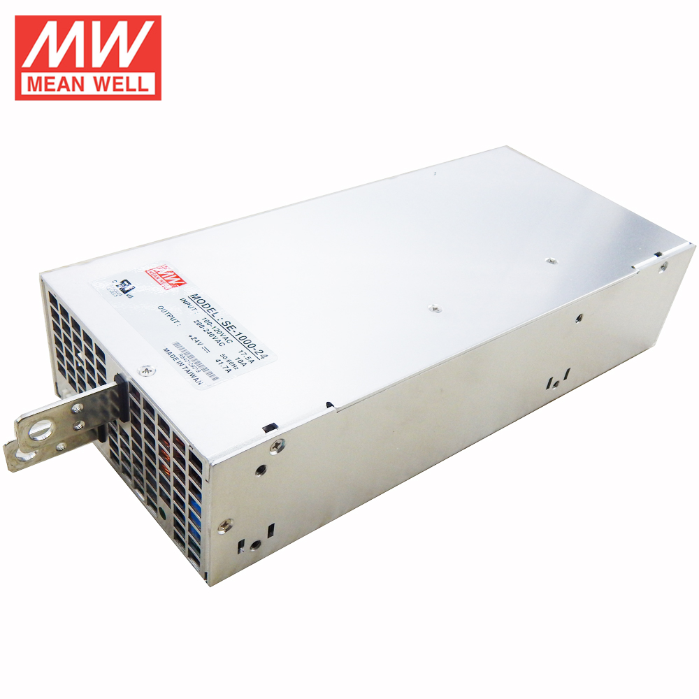 MEANWELL UL 1000W 24V LED Power Supply SE-1000-24