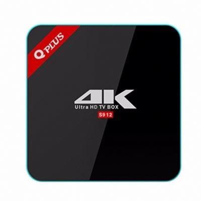 3G/32G Q Plus Amlogic 912 Android 6.0 TV BOX Octa Core Dual WiFi XBMC Q-PLUS Smart Set Top Box Media Player better than H96 pro