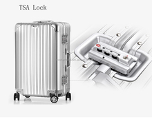 2017 Customized Design Classic Trolley Luggage Bag Luggage ABS PC luggage