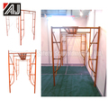 High Quality Painted Steel H Type Frame Scaffolding