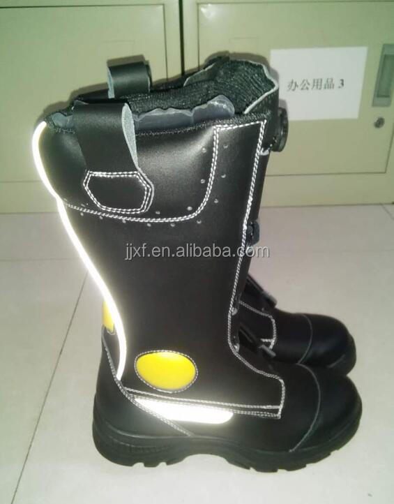 Cow leather safety shoes construction safety boots