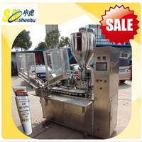 Shanghai Automatic Tube Filler and Sealer For Lip Butter