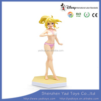 Cute nude cartoon action figure for kids and adult