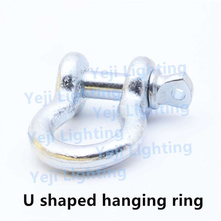 hardware zinc alloy u shaped u form metal haning ring /anchor bracket for chandeliers, trailer <strong>hooks</strong>