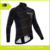 CYCLINGBOX Jetta black jacket sublimation printing custom fleece jersey