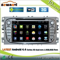 Universal android touch screen 2 din 7 inch in dash detachable tablet car gps navigation dvd player with 3g wifi dvd camera gps