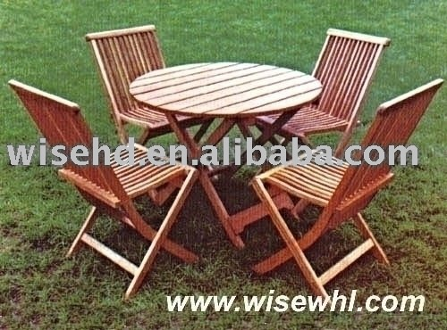 (W-5S-5210) solid wood outdoor patio furniture