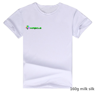 Men's Cheap Plain O-Neck White Blank T Shirts For Printing ,Promotion /Advertising T Shirt Wholesale China