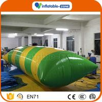 Professional sport product beach toy inflatable water blobs for sale inflatable water blob for water