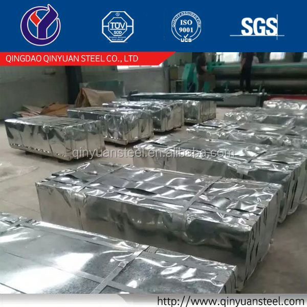 Prime hot-dipped galvanized with competitive price/roofing sheets factory from Qinyuan
