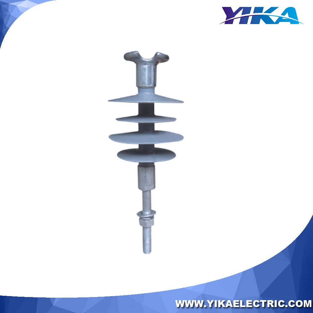 Wenzhou Yika IEC Line Post Insulator Polymer Type 11KV Pin Insulator With Spindle For Insulator