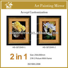 New design art picture framed for home decoration