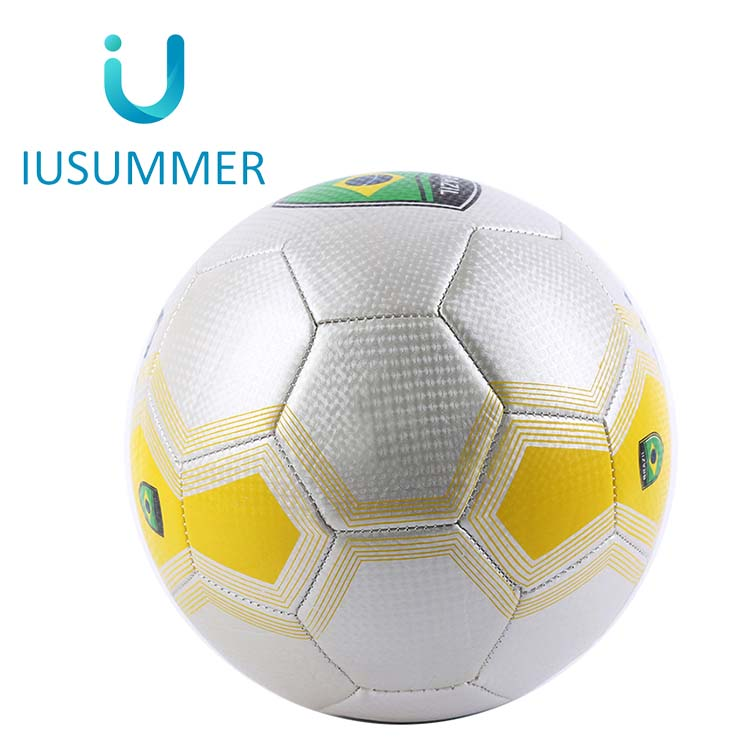Machine Stitched Custom Printed Promotional High Quality Soccer Ball Size 4
