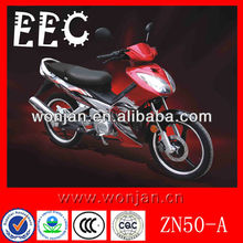 50cc EEC Approved Pocket Moped Cub Motorcycle Supplier (ZN50-A)