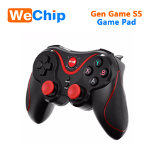 2018 Gen Game S5 Wireless BT Gamepad Joystick for Android Smartphone Tablet PC Remote Controller Black game pad for child