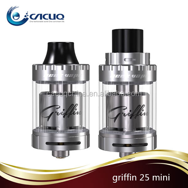 Wholesale GeekVape griffin rta 25 mini Top Airflow Tank 4ml Griffin 25 ,mini available for single or dual coil