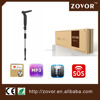 SOS GPS FM MP3 Knife shape walking stick for defense